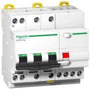 Диференційний вимикач навантаження iDPN N VIGI 3P+N 25A 30mA C AC Schneider Electric A9D31725