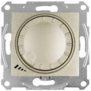 Димер LED поворотно-нажимний універсальний 4-400Вт титан Sedna Schneider Electric SDN2201268