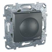 MGU5.513.12 Димер LED поворотно-нажимний універсальний графіт 4-400Вт Schneider Electric Unica