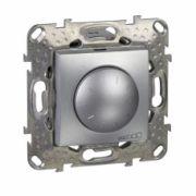 MGU5.513.30 Димер LED поворотно-нажимний універсальний алюміній 4-400Вт Schneider Electric Unica