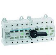 Перемикач введення резерву трьохпозиційний |-О-||, 4-пол. 125А 400/690В 12-мод. Hager HI406R