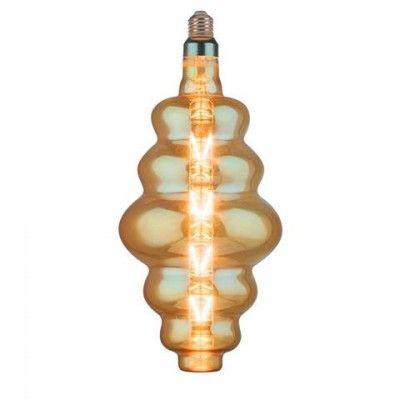 Лампа свiтлодiодна 8W E27 2200K filament Horoz ORIGAMI-XL Amber