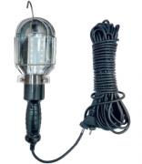 Переносний ліхтарик гаражний Е27 з подовжувачем 15м Lemanso LMA083