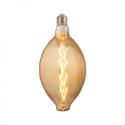 Лампа светодиодная 8W E27 2200K filament Horoz ENIGMA Amber