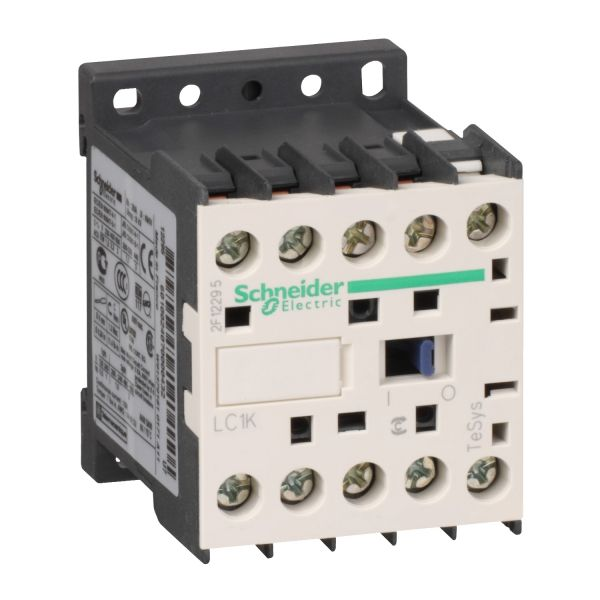 LC1K0910B7 Контактор 3Р 1НО 9А 24V Schneider Electric