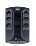 Источник бесперебойного питания UPS LogicPower LP 650VA-6PS LP4324