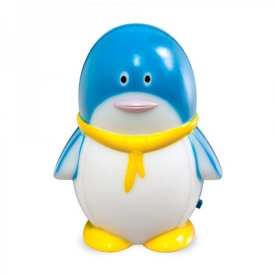Нічник світлодіодний синій з вимикачем Feron FN1001 пінгвін