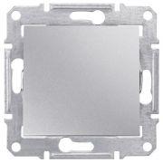 Переключатель одноклавишный проходной, алюминий Sedna Schneider Electric SDN0400160