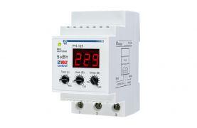 Реле напряжения РН-125 для защиты бытовой техники и электрооборудования