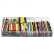 Набір термо-трубок в коробці D=2-4-8-12 (328 шт.) 4см 7 кольорів коеф. усадки 2:1