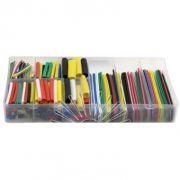 Набір термо-трубок в коробці D=2-4-8-10 (530 шт.) 4,5см 5 кольорів коеф. усадки 2:1