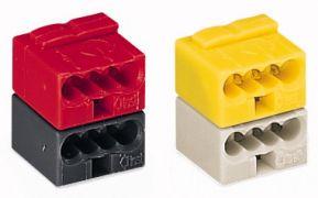 243-212 Соединитель WAGO для EIB систем, серый / желтый
