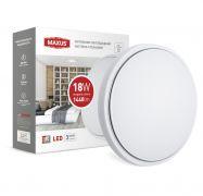 Настенно-потолочный светильник Круг 18W 4100K LCL MAXUS (1-MAX-01-LCL-1841-C)