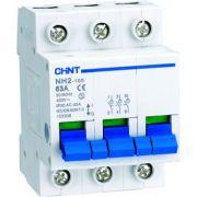 Выключатель нагрузки 3-полюсный 63А NH2-100 Chint 401019