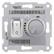 Комнатный термостат, алюминий Sedna Schneider Electric SDN6000160