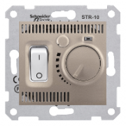 Комнатный термостат, титан Sedna Schneider Electric SDN6000168