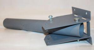 Кронштейн для светильника с регулировкой угла наклона КСУР d = 40мм