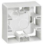 Коробка накладна 1п. білий Etika Legrand 672510