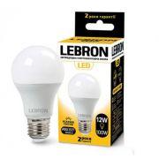 Лампа свiтлодiодна з акустичним датчиком 12W E27 4100K Lebron A60