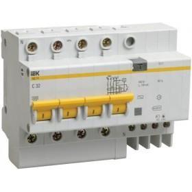 Дифференциальный автомат АД14 4Р 32А 100мA ІЕК MAD10-4-032-C-100