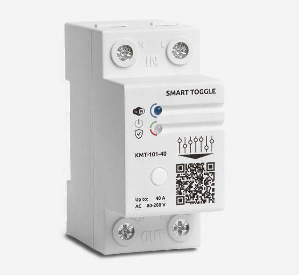 WiFi таймер реле часу енергонезалежний годинник Баклер КМТ-101-40А