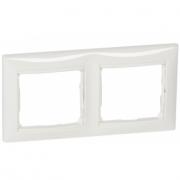 Рамка 2п горизонтальна білий Valena Legrand 774452