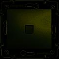 Вимикач одноклавішний прохідний з підсвіткою алюміній Valena Legrand 770203