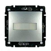 Кнопка с подсветкой и держателем этикетки белый Valena Legrand 770217