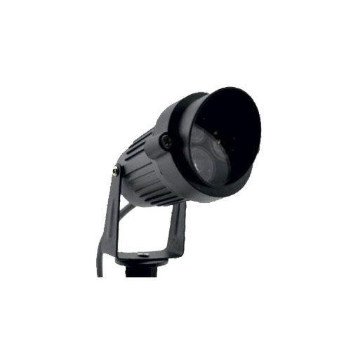 Светильник садовый 3LED 3W 270LM RGB IP65 без пульта черный Lemanso LM15