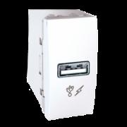 MGU3.428.18 Розетка USB-вихід 1мод., біла Unica Schneider Electric