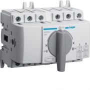 Перемикач перекидний трьохпозиційний Hager I-0-II 40А 400/690В 3п 5м HIM304