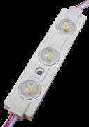 Світлодіодний модуль SMD2835 3 діода 0,72Вт з лінзою IP65 холодний білий Standart