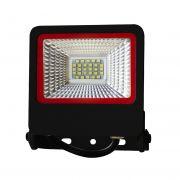 Прожектор SMD черный с радиатором 30W 6500K NEW RED EUROLAMP LED