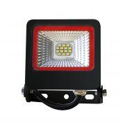 Прожектор SMD черный с радиатором 10W 6500K NEW RED EUROLAMP LED