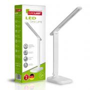 Світильник настільний в стилі хайтек 5W 3000-5000K білий EUROLAMP LED