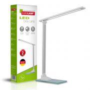 Світильник настільний в стилі хайтек 5W 5300-5700K срібний EUROLAMP LED