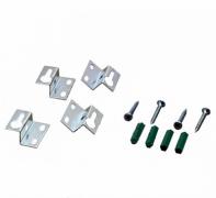 Крепления для светодиодной панели в гипсокартон 600х600 (4 винта + крепления) Lemanso LM494