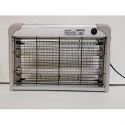 Светильник от комаров для уничтожения насекомых серебряный T8 2x10W Lemanso LMN104