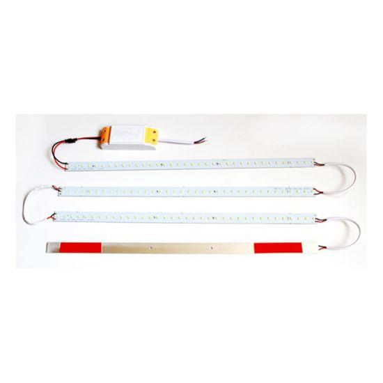 Комплект линеек SMD2835W (4шт.) + драйвер 28W для замены туб (ремкомлект Recessed)