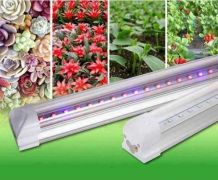 Светильник светодиодный для растений 600мм 9Вт красный: синий 4: 2 ФИТО свет