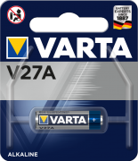 Батарейка Varta V27A BLI 1шт. Alkaline