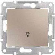 Вимикач одноклавішний з символом Дзвінок титан Sedna Schneider Electric SDN0800168