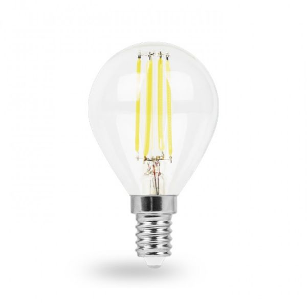 Лампа светодиодная 6W E14 2700K filament Feron LB-161 P45