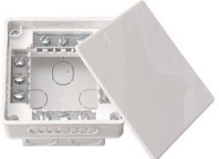 Распределительная коробка 95х95х53 с клеммными колодками для бетона и кирпича Bylectrica КМ-212