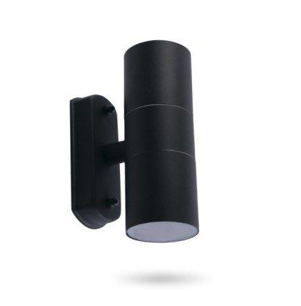 Архитектурный светильник 2хGU10 Feron DH0704 черный