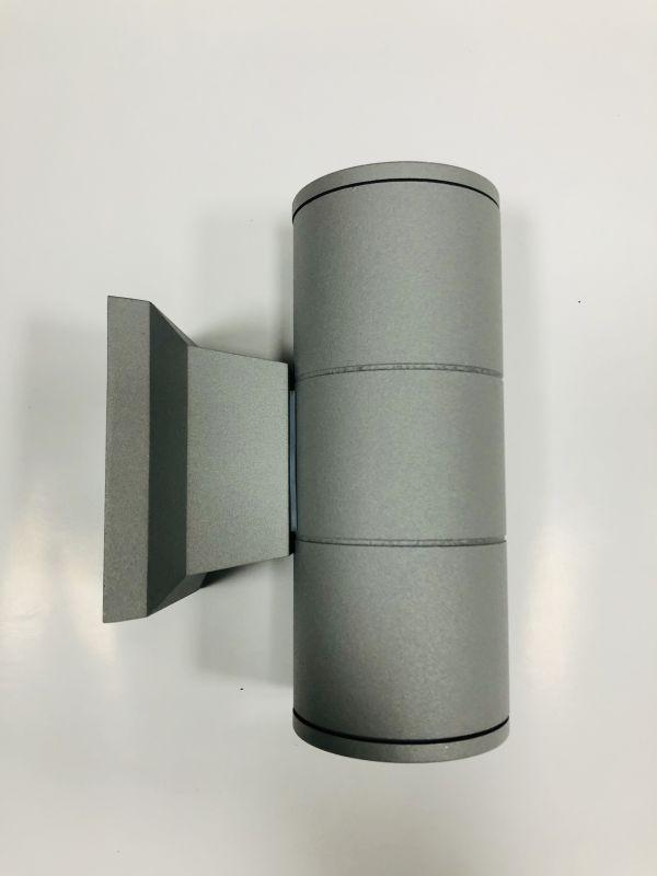 Подсветка стены серебро LED Lemanso 2хGU5.3 IP65 LM1105