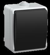 Выключатель 1-кл открытой установки 10А/250В, IP54, ВС20-1-0-ФСр, Форс ІЕК, (EVS10-K03-10-54-Dc)