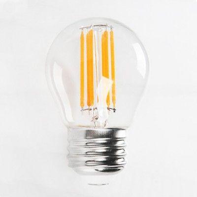 Светодиодная лампа 6W Е27 2700К FILAMENT MINI GLOBE-6 Horoz