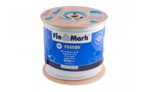 Коаксіальний телевізійний кабель біметал F660BV білий 305м FinMark