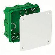 Розподільча коробка 100х100х50, 112/51/112 зелена Schneider Electric IMT35122